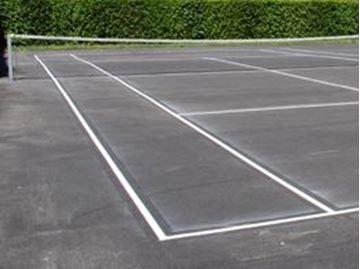 Afbeelding van Belijning tennis