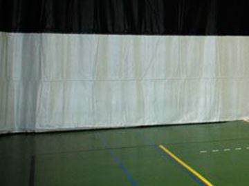 Afbeelding van Afscheidingswand (op rails)
