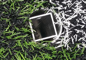 Afbeelding van Alu grondkoker voor cornerpaal Ø30mm / Ø50mm